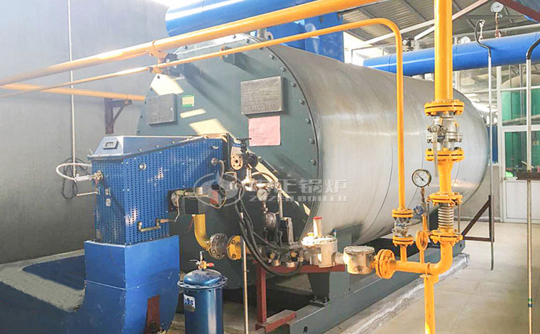 8.2 MW gas-fired thermal fluid heater project for chemical industry